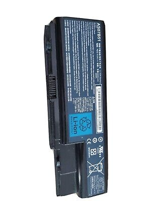 Battery for Acer Aspire 5520 5730 5920 6920 6930 AS07B41 AS07B51 AS07B71 Genuine
