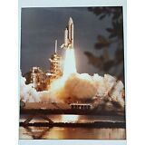SPACE SHUTTLE COLUMBIA -PHOTOGRAPH SIGNED BY JOHN YOUNG, BOB CRIPPEN