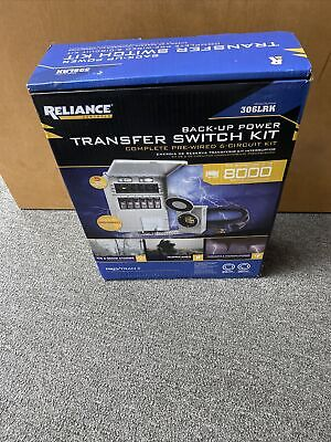 Reliance 306lrk 6-circuit Transfer Switch Kit P2