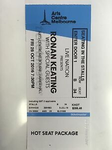 Ronan Keating TONIGHT concert Elwood Port Phillip Preview