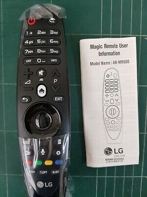 Genuine Original LG AKB74495301 AN-MR600 (ANMR600) Smart TV Remote Control