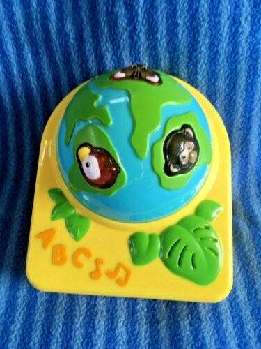 Evenflo Life in the Amazon Exersaucer Globe Earth Light Up Toy Replacement Part