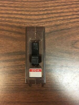 Wadsworth 20a Circuit Breaker A-20