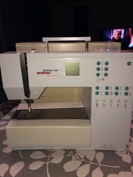Bernina Activa 40 Sewing Machine Secondhand Sewing Machines Magnificent Bernina Activa 130 Sewing Machine