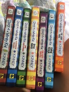 Diary of a Wimpy kid books 1-6 and book  9