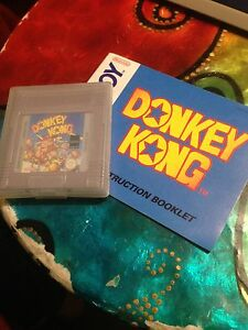 RARE Nintendo Gameboy DONKEY KONG Ascot Vale Moonee Valley Preview