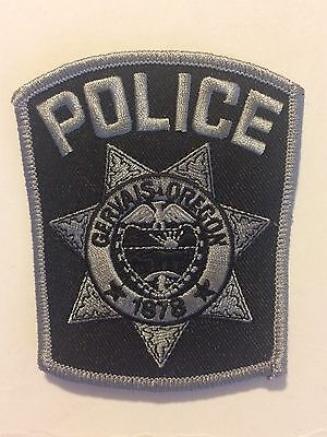 Gervais Oregon Police Shoulder Patch Subdued Vintage Discontinued