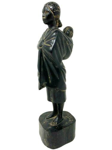 School Madagascan & Antananarivo & & Figure & Art Deco & Sculpture Wood -