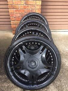 20 INCH BLACK RIMS + TYRES! Maraylya The Hills District Preview