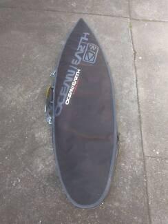 MP2 Surfboard w. Bag & Leg Rope