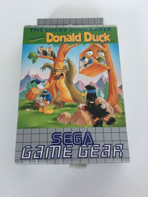 Sega Game Gear The Lucky Dime Caper Donald Duck Complete PRO CLEANED VGC