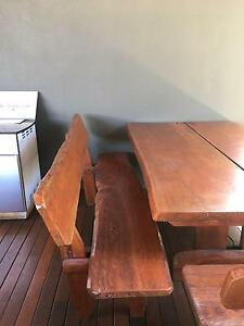 Outdoor dining table and chairs Sinnamon Park Brisbane South West Preview