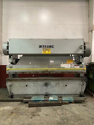 Wysong 90-10 Mechanical Press Brake 90 Ton X 12 - Amada Rg Strippit Cincinnati