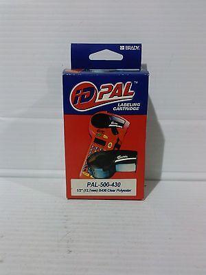 Brady ID PAL PAL-500-430 Labeling Cartridge. B430 Clear Polyester 1/2