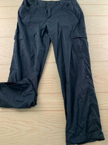Patagonia Womens Black Quick Dry Full Length Hiking Trail Pants Size 10 Nylon