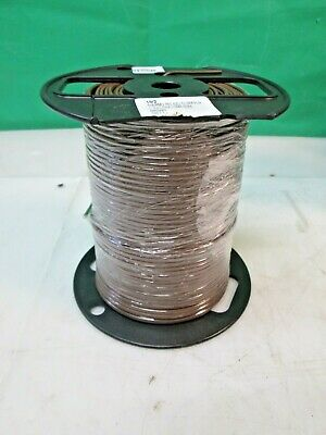500ft Brown Thermostat Wire Cl2 Solid Bare Copper 182 Cl3rfplr Ul Cmr 75c