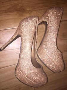 Sparkling heels never used