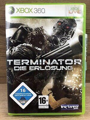 Xbox 360 Spiel • Terminator - Die Erlösung • Guter Zustand #M39