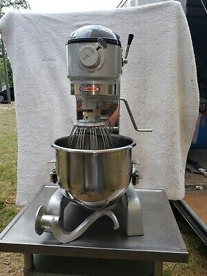 Anvil American Mix20 20 Qt Dough Bakery Mixer With Hook Whisk Table Stand