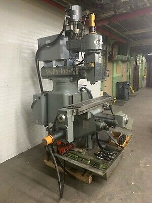 Wells-index 3-axis Cnc Milling Machine With Centroid M-400 Control - New 1999