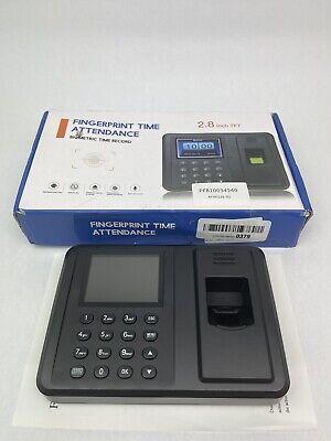 2.8 Inch Tft Screen Fingerprint Recorderoffice Time Attendancebiometric Finger