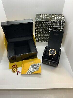 Brietling Aerospace 18ct Gold Watch Mens