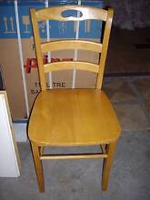 6 x Dining Timber Chairs Arncliffe Rockdale Area Preview
