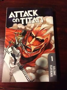 Attack on Titan vol 1 manga