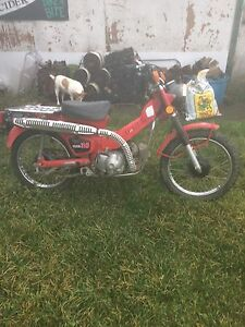 Vintage 1980 Honda 110 Street & Trail