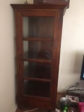 Wooden and glass display unit Dandenong North Greater Dandenong Preview