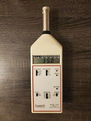 Quest Electronics 2700 Impulse Sound Level Meter W Microphone