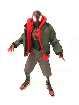 PB-MSM: 3 pcs Outfit for Marvel Legends Miles Morales Spider-Man (No Figure)](New Outfit 2017)