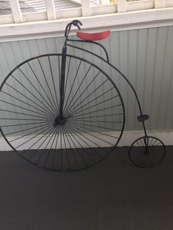 Bicycle Vintage Style Metal Two Metal Decors