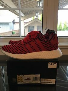 "NMD R2 PK ""core red"" DEADSTOCK size 10"