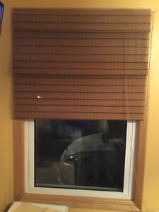 "Bamboo blinds.  36"" x 60"".   $30 for the pair"