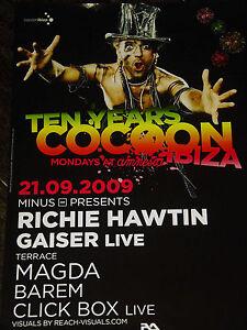 Richie Hawtin Ibiza 2009 Poster 23