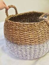 Beautiful white paint dipped basket - BRAND NEW Beecroft Hornsby Area Preview