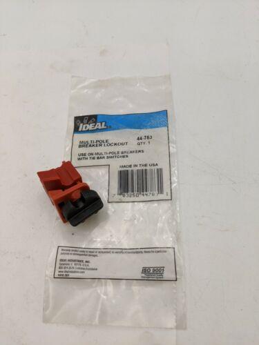 Ideal 44-783 Multi-Pole Breaker Lockout Tie Bar Switch Circuit Breaker Accessory