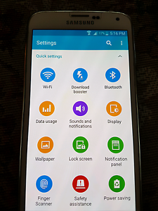 Samsung Galaxy S5 16Gb White East Brisbane Brisbane South East Preview