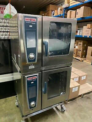 Rational Double Scc We 61 Self Cooking Center Electric Steam Combi Oven