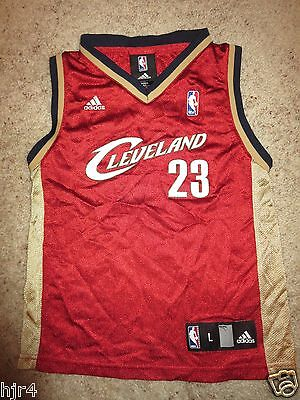 LeBron James #23 Cleveland Cavaliers Cavs adidas NBA Jersey Toddler L 7 Rookie