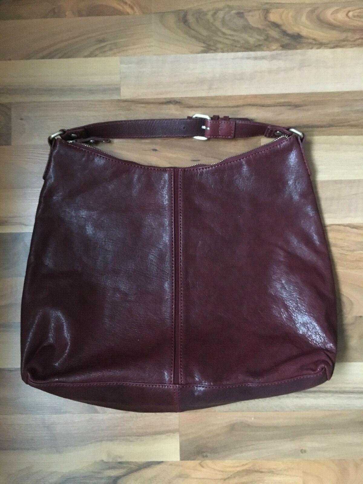 Brax Leder Damen Tasche Handtasche Bag weinrot bordeaux NEU