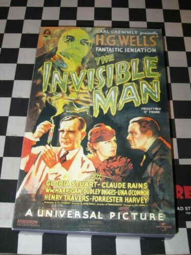 """SIDESHOW UNIVERSAL THE INVISIBLE MAN CLAUDE RAINS 12"""" FIGURE"""