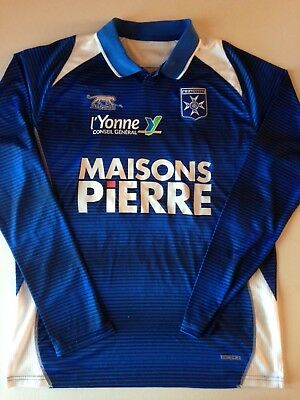 RARE MAILLOT FOOTBALL A.J AUXERRE SAISON 2011-2012 N°15 YONATHAN DEL VALLE image