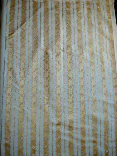 "antique french  dress robe silk  yardage   42"" x 21 1/2"""