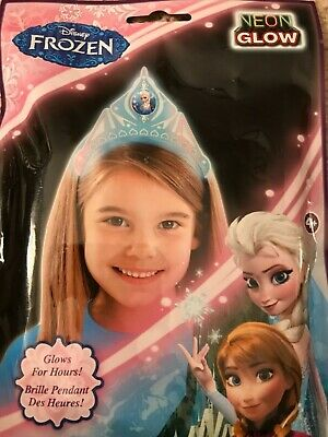 Disney Frozen ELSA GLOW BAND Stick Tiara CROWN Hair Dress Up Halloween Costume](Halloween Disney Princess Dress Up Games)