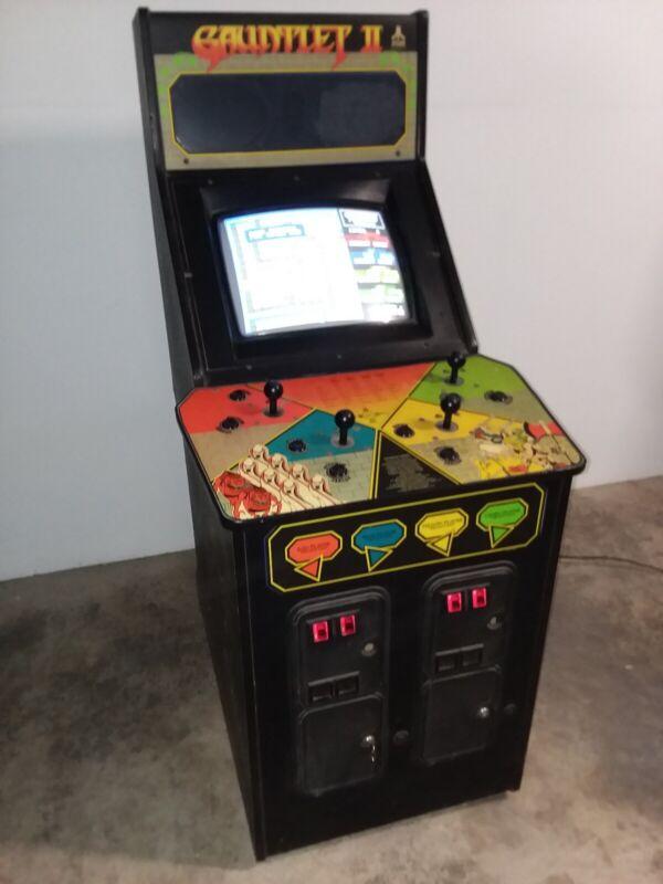Gauntlet II Arcade Machine
