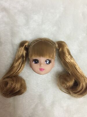 9 inch LICCA head  with long hair Girls Kids Great Gifts