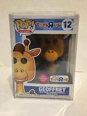 Funko Pop! Ad Icons Flocked Geoffrey #12 Toys R Us Exclusive With Protector