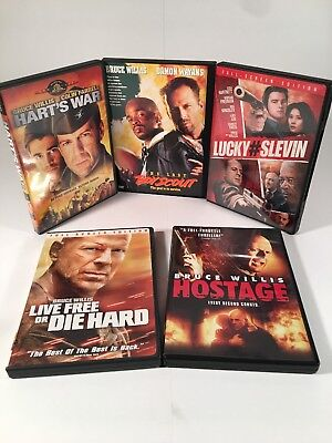 Bruce Willis Dvd Collection 5 Films
